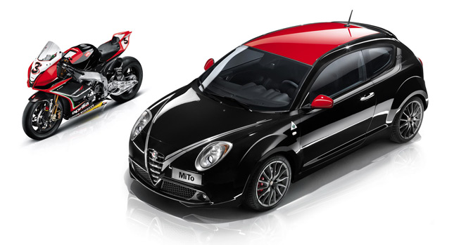 MiTo Superbike Special Series in Paris and Alfa Romeo to Debut MiTo SBK Limited Edition 1