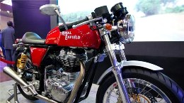 Royal Enfield's 2013 Cafe Racer