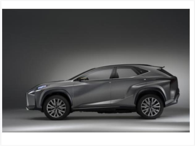 Lexus LF-NX crossover concept bows in Frankfurt  News Image