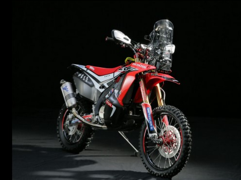Honda unveils 2014 Dakar Rally model