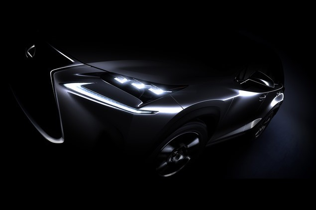 Production Lexus NX SUV Teases Ahead of Beijing Show Debut  News Image