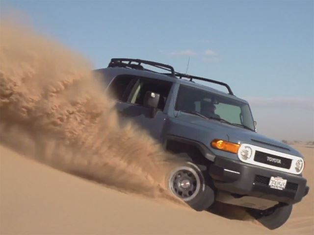 The Toyota FJ Cruiser Takes One Final Road Trip