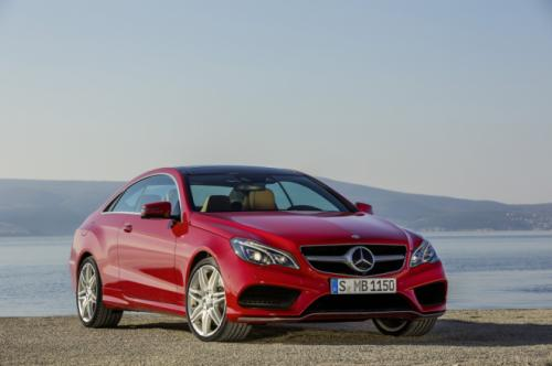 2017 Mercedes E-Class Coupe & Convertible to be larger & more dramatic