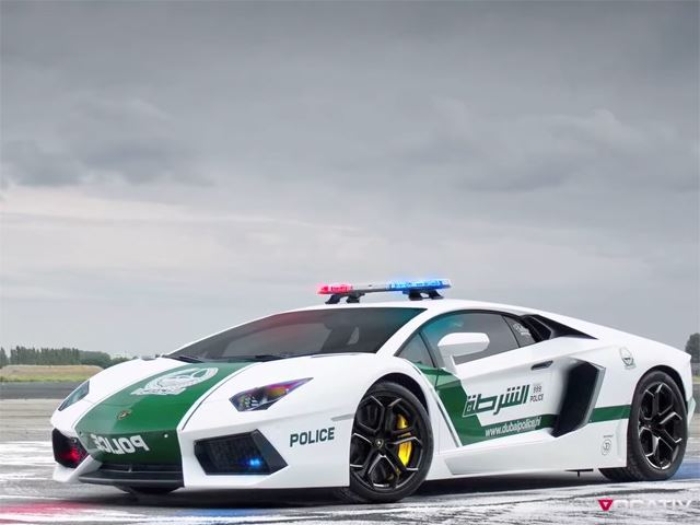 Step Inside the Dubai Police Department`s Supercar Garage  News Image