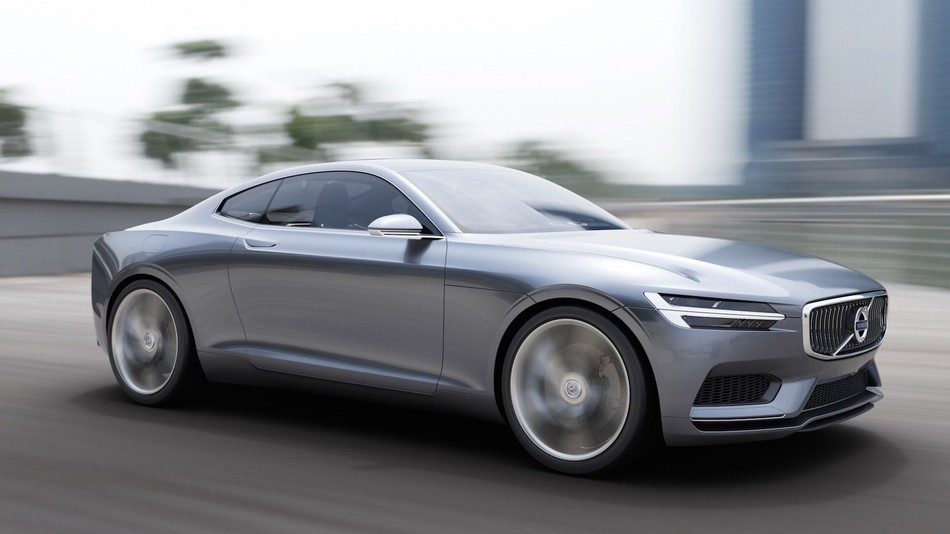 The Volvo Concept Coupe Would be a Great Tesla Rival News Image