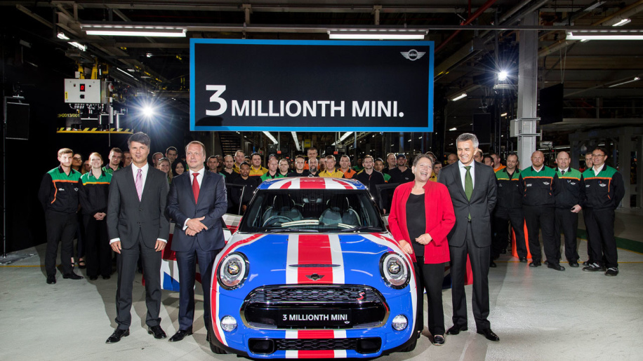 Mini gives birth to 3-millionth Car  News Image
