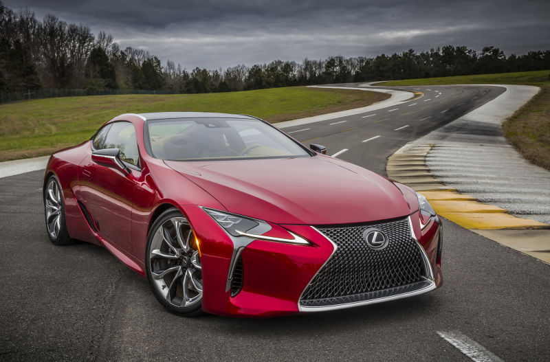 LEXUS TO BUILD PRODUCTION VERSION OF THE LF-LC CONCEPT News Image