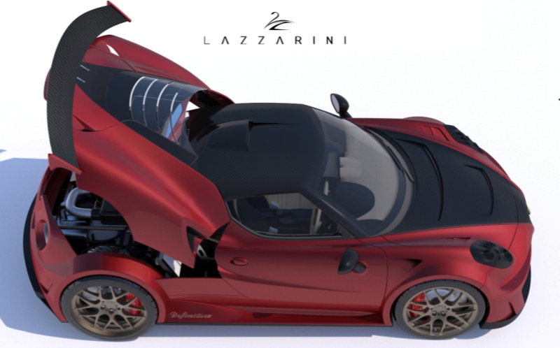 A FERRARI-ENGINED ALFA ROMEO 4C MAY BE COMING, THANKS TO LAZZARINI DESIGN News Image