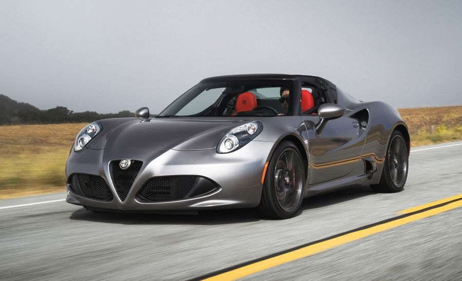 Alfa Romeo 4C Spider Spied in Production Form Will Debut in 2015 News Image