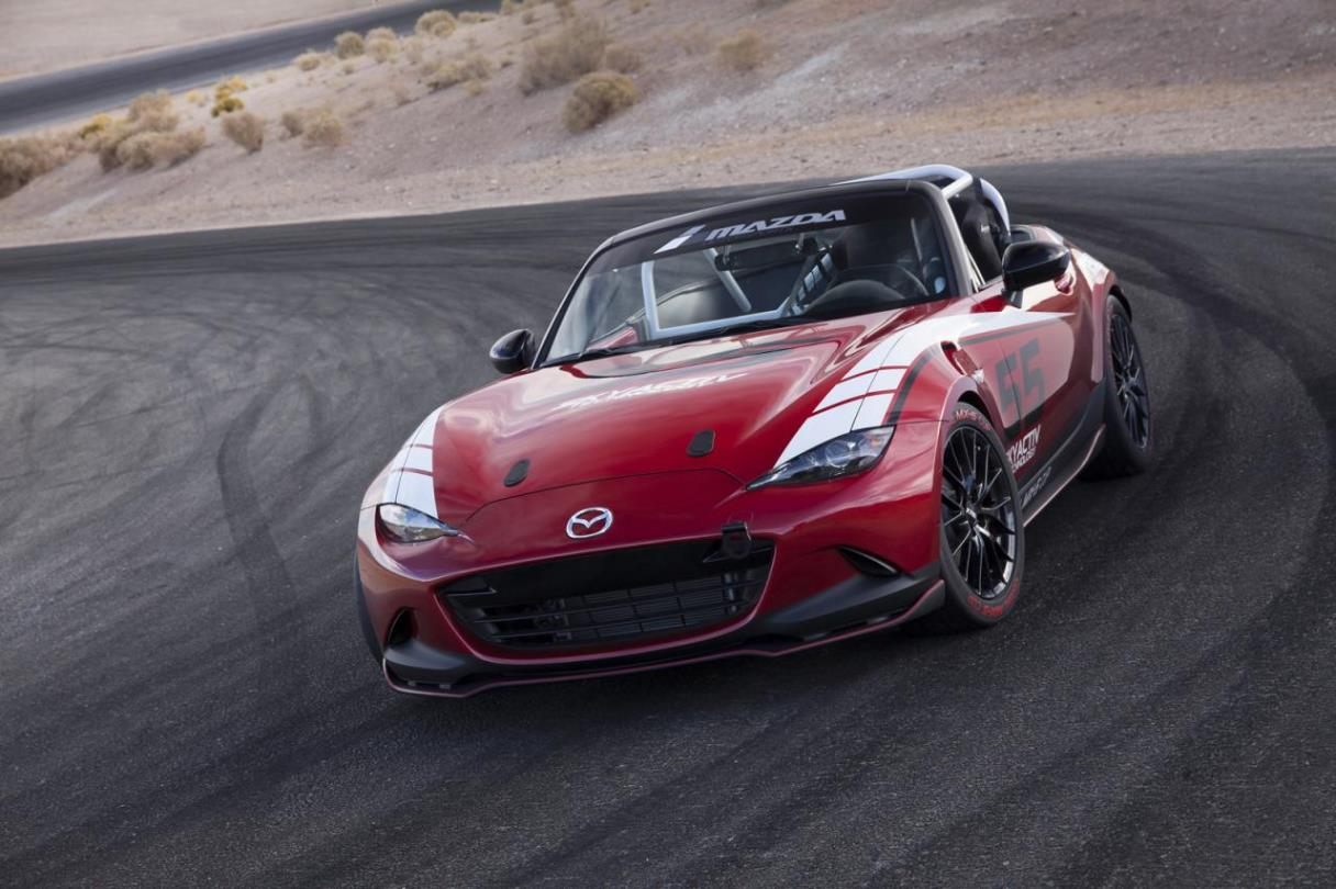 2016 Mazda MX-5 Cup Racecar Starts Final Testing  News Image
