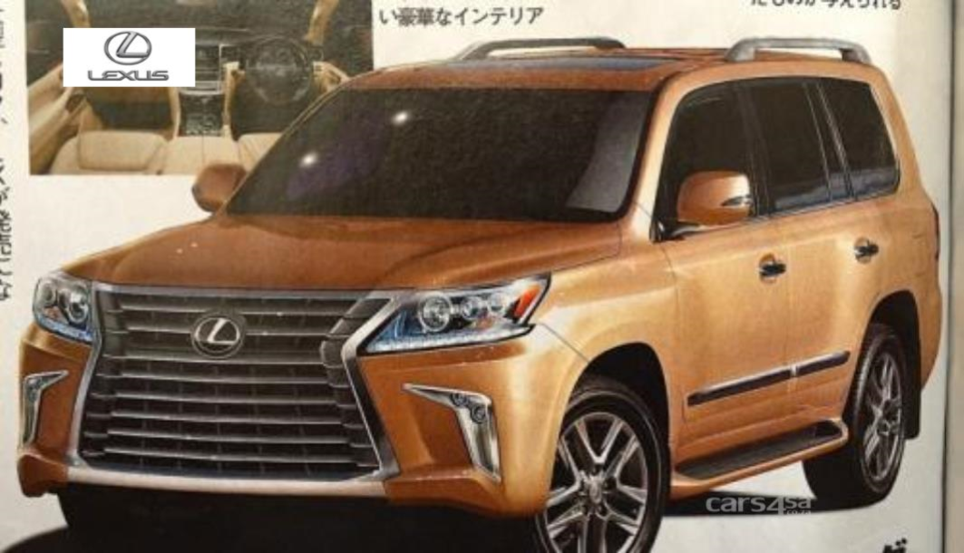 2016 LEXUS LX 570 FACELIFT LEAKS OUT EARLY News Image