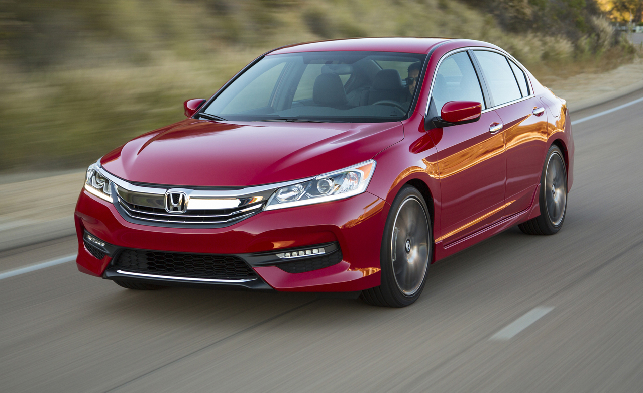 FACELIFTED 2016 HONDA ACCORD COUPE BREAKS COVER  vehilce news image