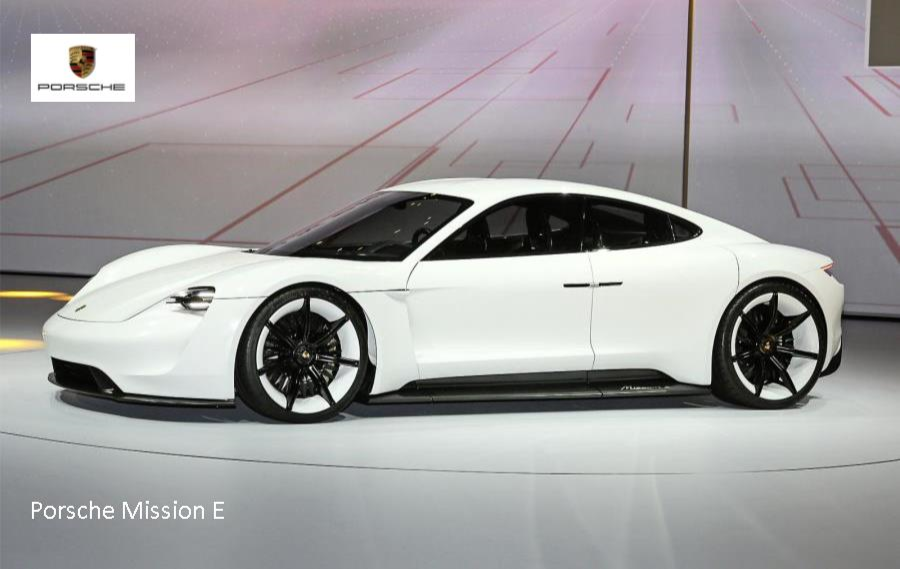 PORSCHE MISSION E ELECTRIC SALOON REVEALED AT FRANKFURT News Image