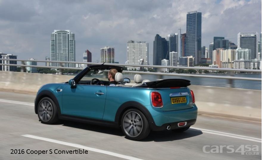 2016 Cooper S Convertible News Image