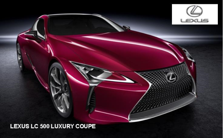 NEW LEXUS LC 500 LUXURY COUPE HEADED FOR SOUTH AFRICA News Image