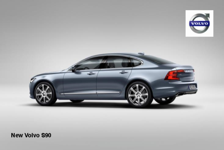 New Volvo S90 makes first public appearance at NAIAS News Image