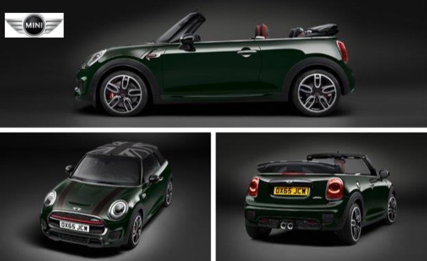 MINI Introduces 2016 John Cooper Works Convertible News Image