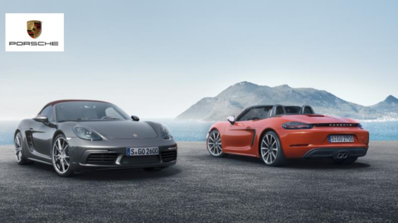 PORSCHE REVEALS DETAILS OF 2017 718 BOXSTER AND BOXSTER S News Image