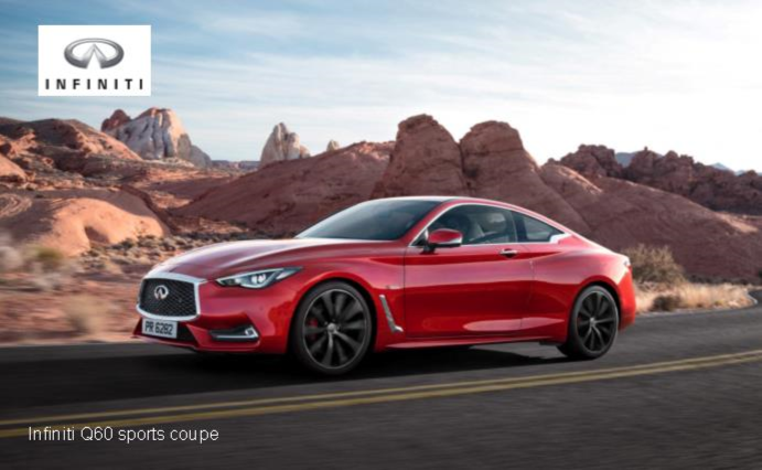 Infiniti Q60 Sports Coupe and QX30 Premium Active Crossover  News Image