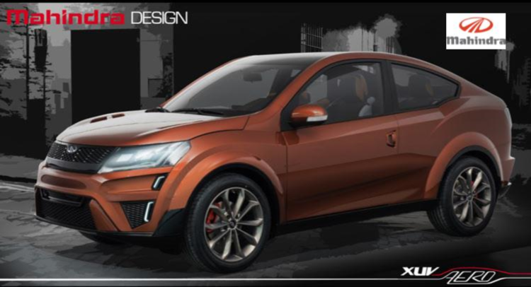 Mahindra Unveils XUV Aero Concept In India vehilce news image