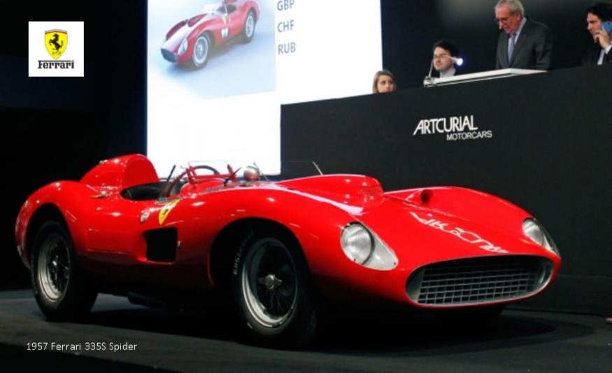 Ex-Stirling Moss Ferrari Is the Second-Most-Expensive Car Ever to Sell at Auction News Image