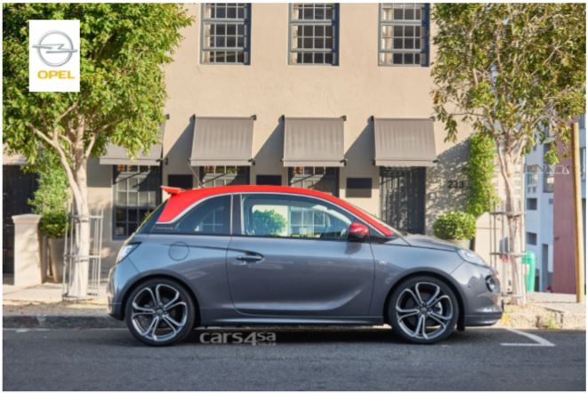 Limited Edition Opel ADAM S Arrives in South Africa vehilce news image