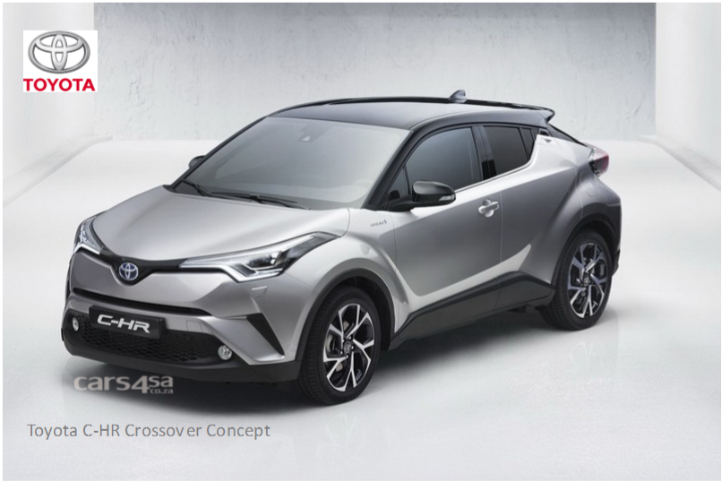 The Toyota C-HR Concept leaked  vehilce news image