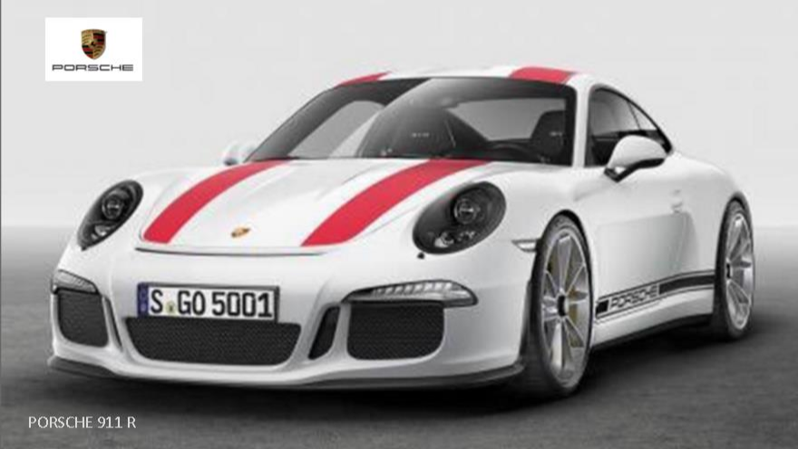 PORSCHE 911 R LEAKS OUT AHEAD OF GENEVA MOTOR SHOW News Image