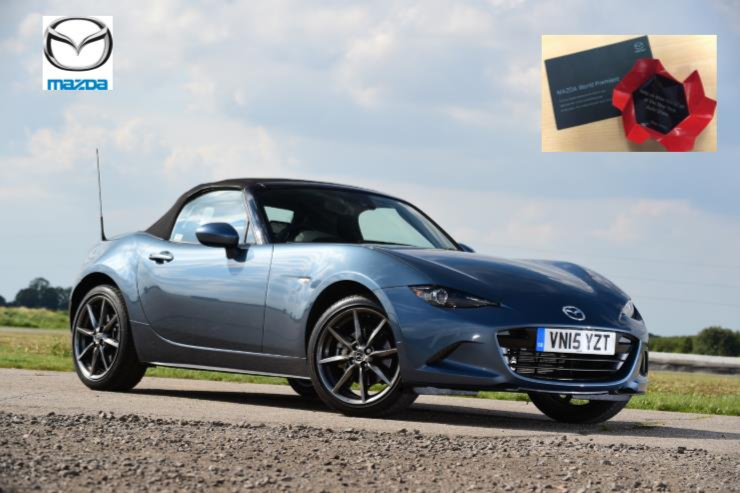 Mazda MX-5 folding hard-top set for 2016 New York show News Image