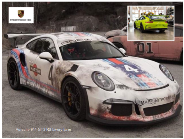 This Might Be the Coolest Porsche 911 GT3 RS Livery Ever News Image