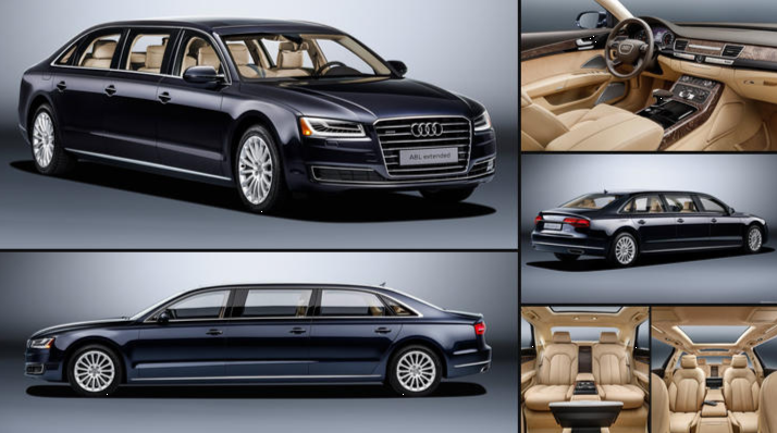 Audi A8 L Extended News Image