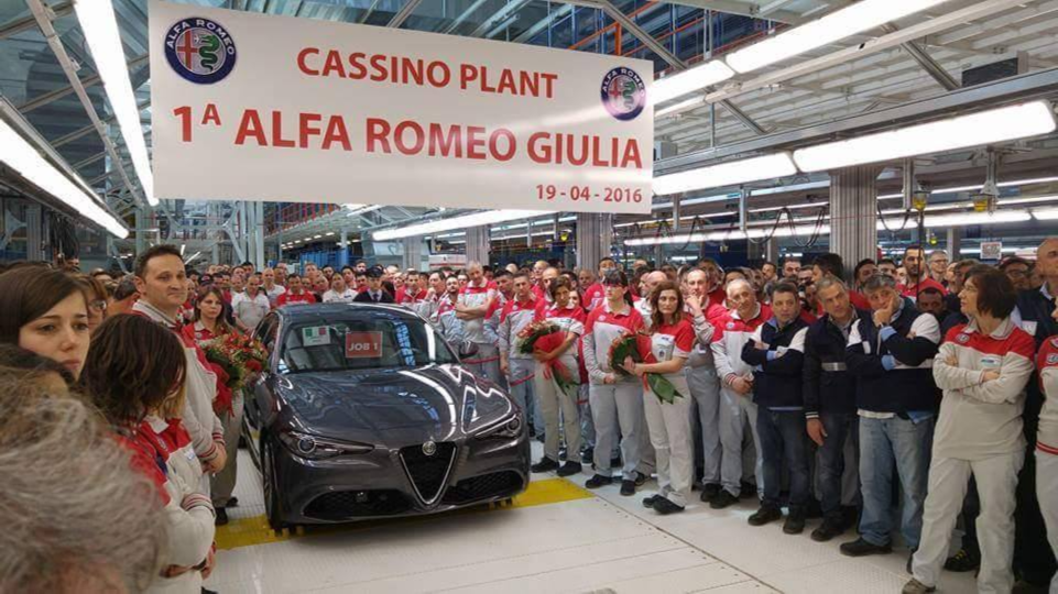 2017 Alfa Romeo Giulia Production Has Just Started at Cassino Plant News Image