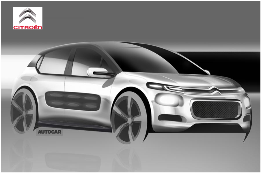 New Citroen C3 to take C4 Cactus styling cues News Image