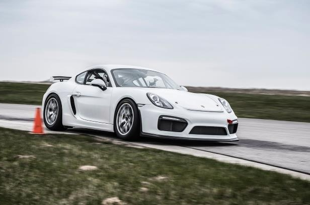 Porsche Cayman GT4 Clubsport let loose on track News Image