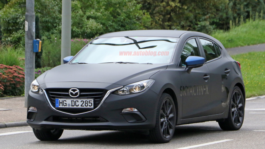 Mazda3 with Skyactiv-X engine technology caught testing in the wild News Image