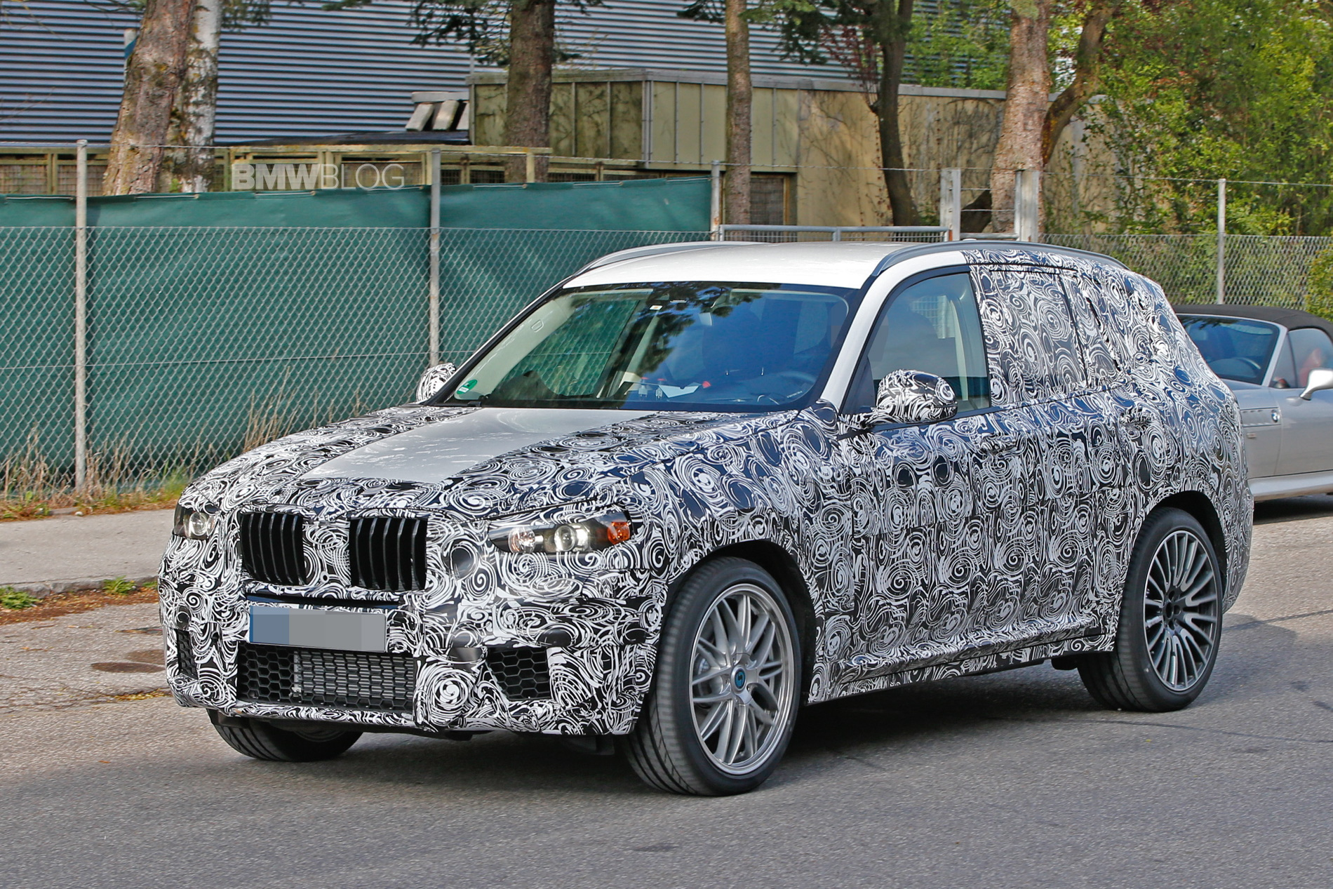 BMW X3 M spied looking aggressive and nearly uncovered News Image