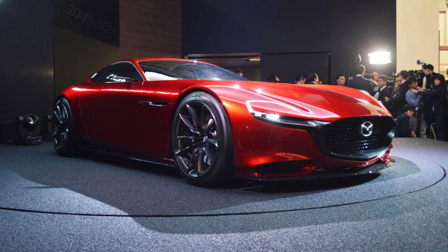 Mazda will have a new rotary concept at Tokyo show, trying to bring it to production News Image