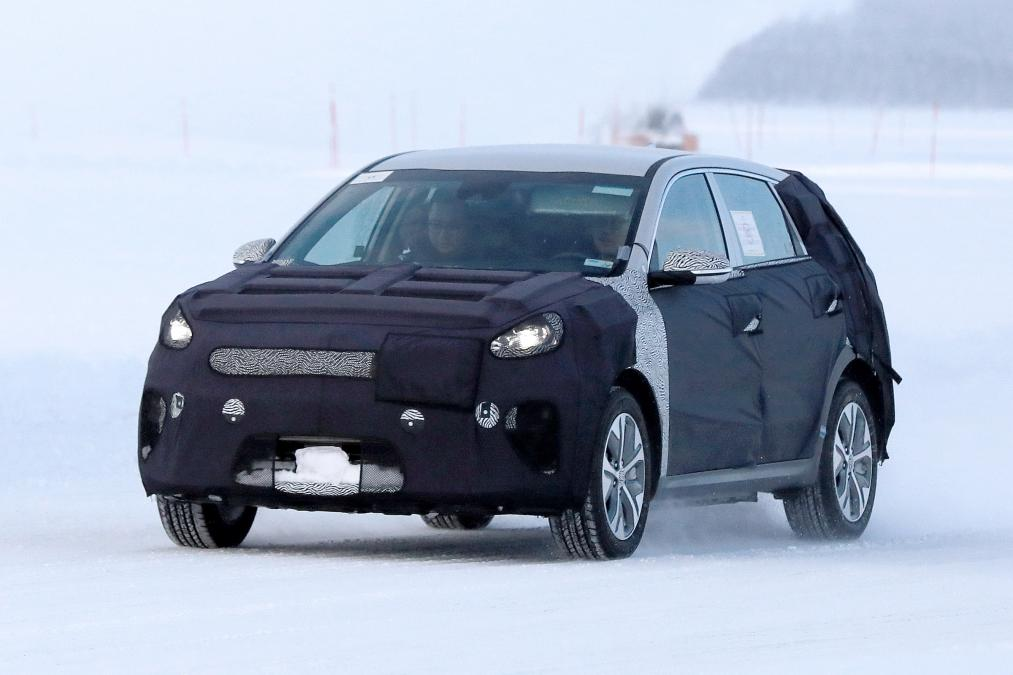 New 2019 Kia Niro EV spied for the first time vehilce news image