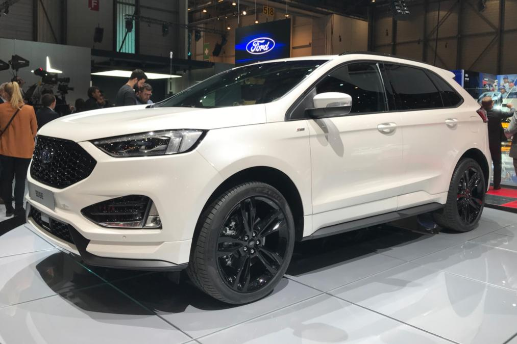 Ford Edge SUV to get twin-turbo diesel News Image