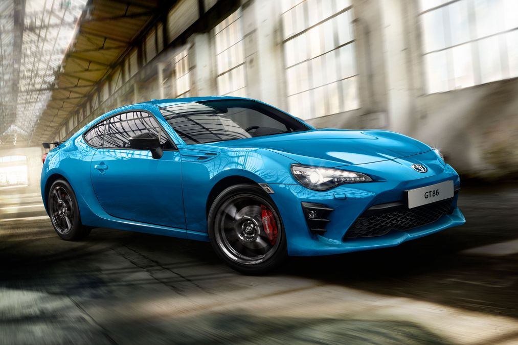 Toyota GT 86 Club Series Blue Edition launched vehilce news image