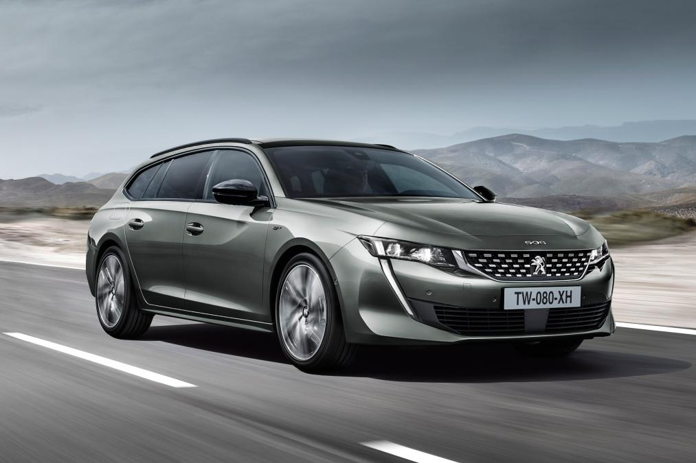 New Peugeot 508 SW estate  vehilce news image