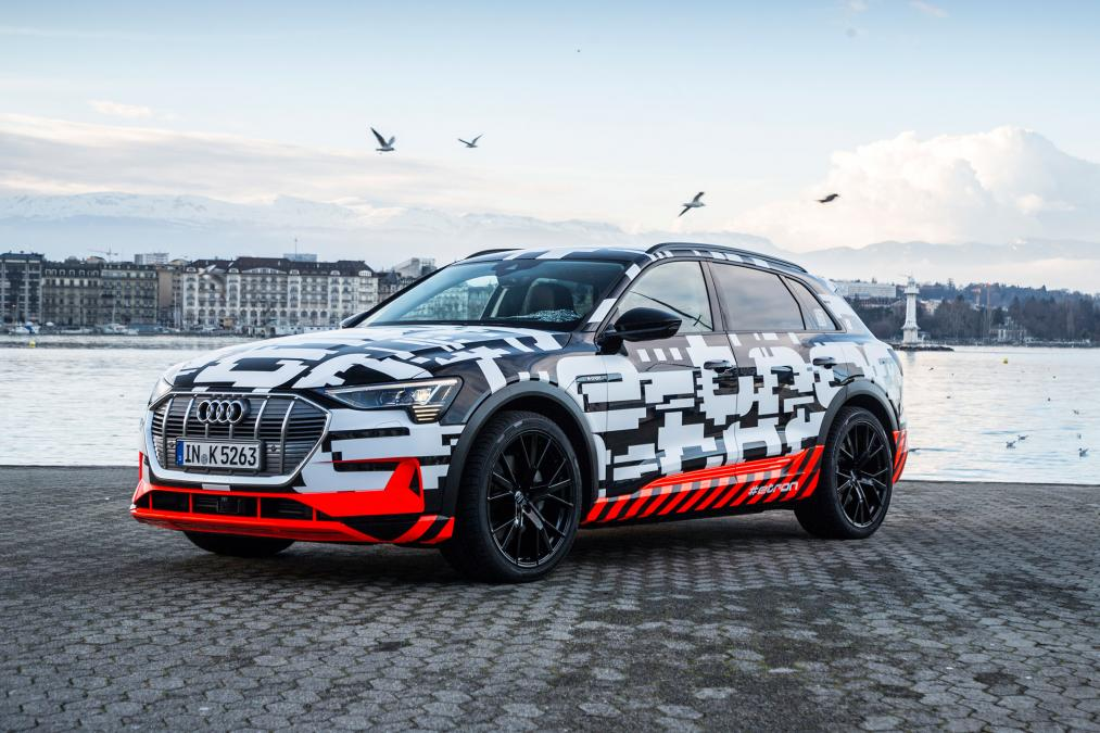 Electric Audi e-tron SUV vehilce news image